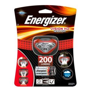 Linterna vincha energizer 200w