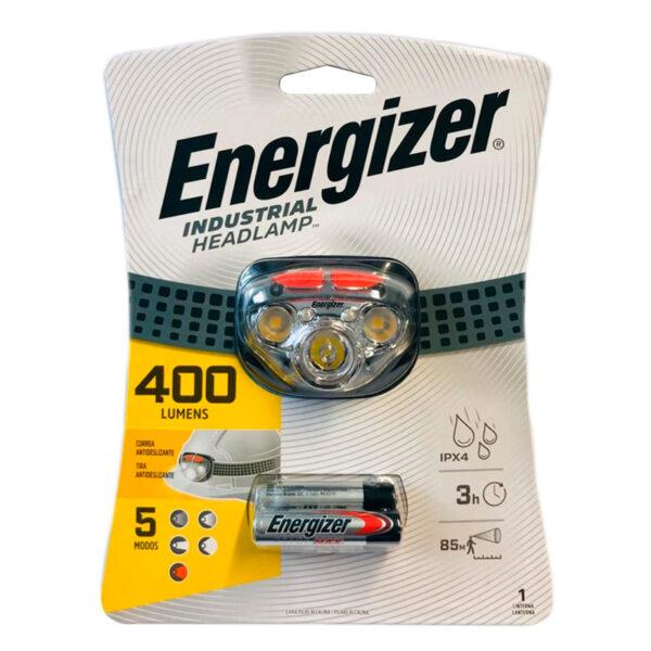 Linterna vincha energizer 400w