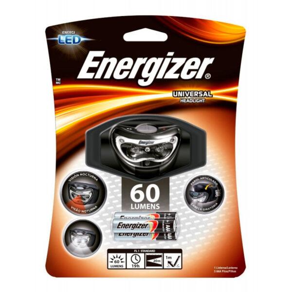 Linterna vincha energizer 60w